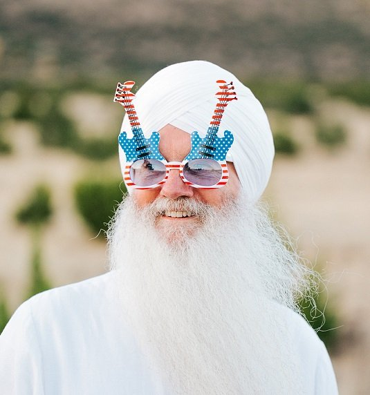Livtar Singh with Glasses